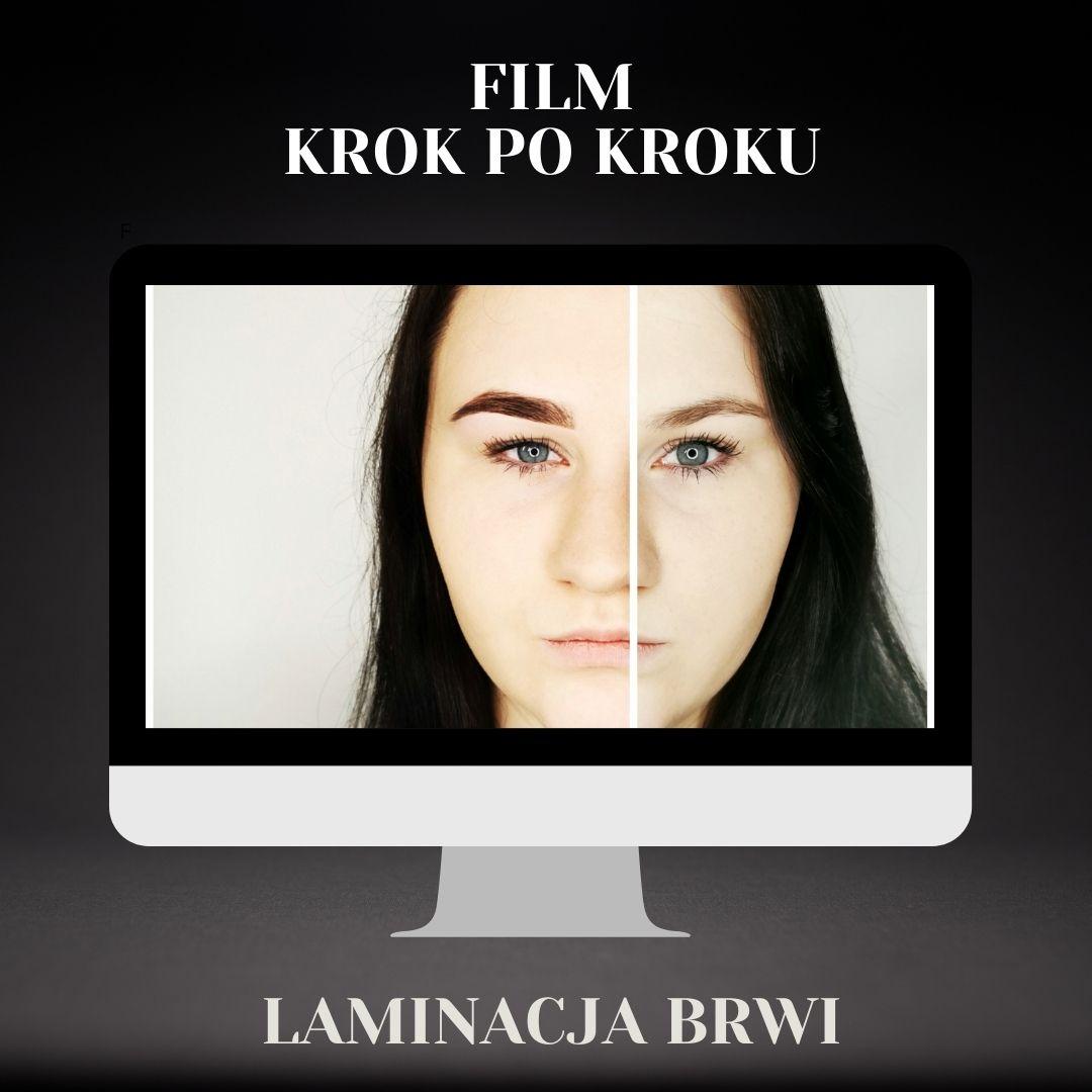 LAMINACJA BRWI KROK PO KROKU FILM